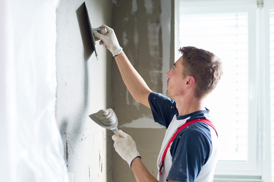Hervorragend Wände verputzen - Anleitung - Schritt für Schritt - Material RA23